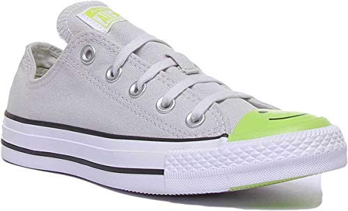 Converse 164424C Womens Canvas Trainers in Grey (US 6.5, Grey) image https://images.buyr.com/OV18L7E_C515BCF1773A8C438B09FE850A6F0FFC910D52E9CE707F91D9440552852D5318-2gy9U8LmD57GMh5BIRhlKQ.jpg1