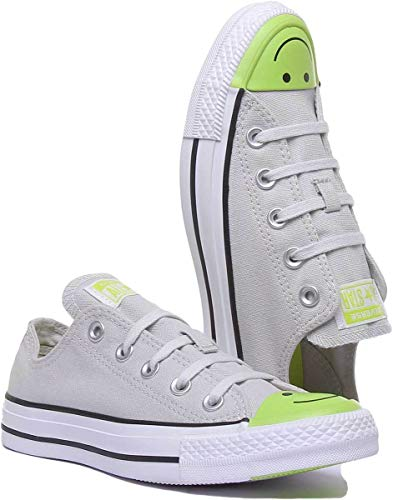 Converse 164424C Womens Canvas Trainers in Grey (US 6.5, Grey) image https://images.buyr.com/OV18L7E_C515BCF1773A8C438B09FE850A6F0FFC910D52E9CE707F91D9440552852D5318-UkSaBVPzu2bjt25MNTG2zQ.jpg1