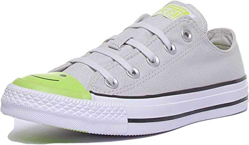 Converse 164424C Womens Canvas Trainers in Grey (US 6.5, Grey) image 1