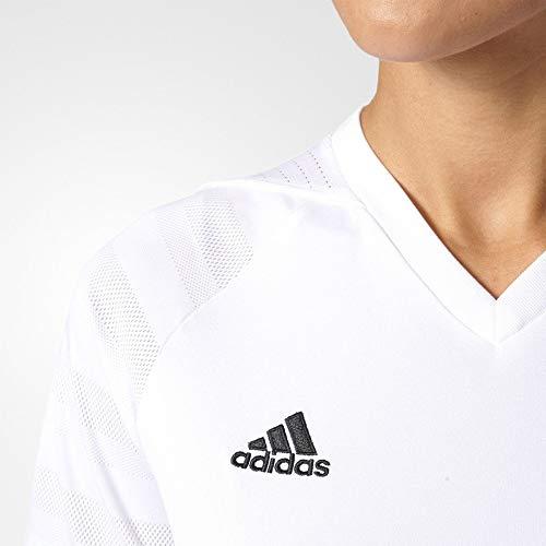 adidas Originals Women's 3-Stripes Tee (Pure White/Black, Small) image https://images.buyr.com/OV18L7E_C7A3DA7DFB8B51F3FB4FF35111AF1FED10E5652B0A820DD81BB2A4ABBDFB8925-oe6sNz5gASAJiscykKws4g.jpg1