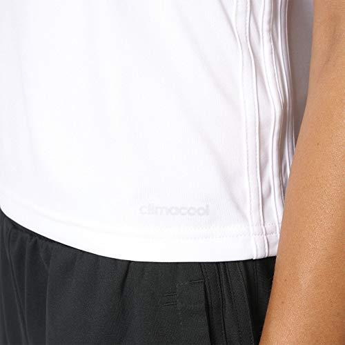adidas Originals Women's 3-Stripes Tee (Pure White/Black, Small) image https://images.buyr.com/OV18L7E_C7A3DA7DFB8B51F3FB4FF35111AF1FED10E5652B0A820DD81BB2A4ABBDFB8925-trFYDuTT2YvBhPAe2DcdKQ.jpg1