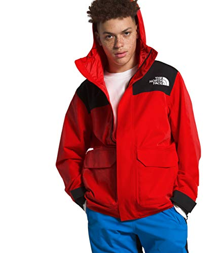 The North Face Men's Cypress Jacket, Fiery Red/TNF Black, L