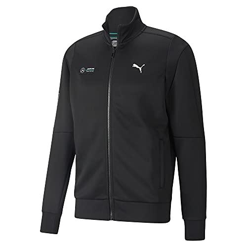 PUMA Men's Standard MAPF1 T7 Track Jacket, Black, Medium image 1