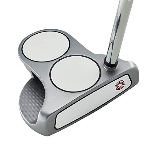 """Callaway Odyssey Golf 2021 White Hot OG Putter (Right-Handed, 2 Ball, Steel, 34"""") , Silver image https://images.buyr.com/OV18L7E_CC20C3B3BFA5080572D60EC47F7D34497CE14CB5F9FD3940F7D1CDB66BF34075-y1ORlY9BH4WH_aqEu97roQ.jpg1"""
