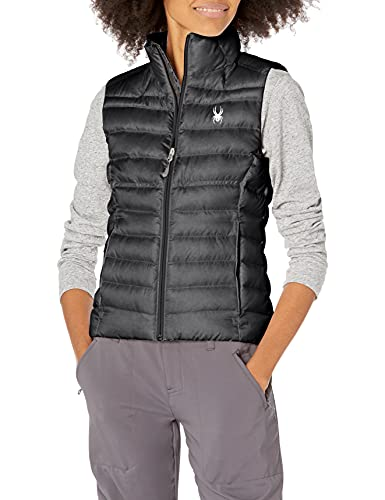 Spyder Women's Prymo Vest, Black/Black, Large image 1