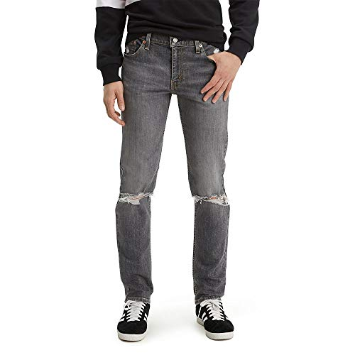 Levi's Men's 511 Slim Jeans, Lionsmane - Destructed - Advanced Stretch, 28W x 32L image 1