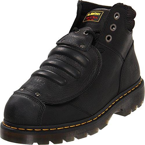 Dr. Martens, Men's Ironbridge Met Guard Heavy Industry Boots, Black, 9 M US image 1