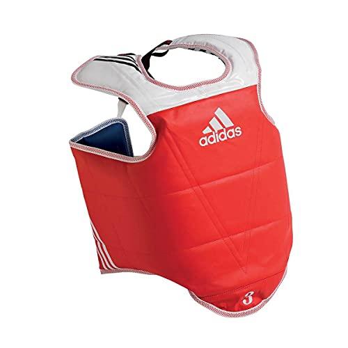 adidas WTF Taekwondo Solid Reversible Chest Protector - XLarge image 1