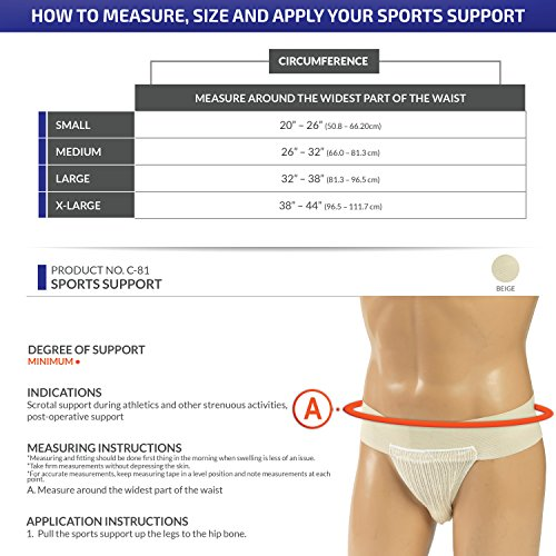 CHAMPION Sports Supporter Elastic Waist Breathable Pouch, Beige, X-Large image https://images.buyr.com/OV18L7E_DA3F3743216102A987BD7F1A273FDD29327DB147455C80F17F5C5AED9F5820CA-4rFQtmMqcrYVtxzC4MzFWA.jpg1