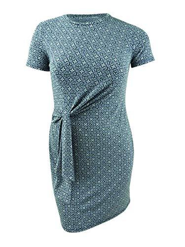 Michael Kors Printed Tie-Waist Dress, Regular & Petite Sizes image 1