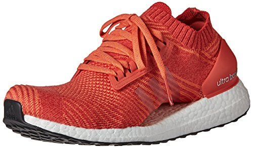 adidas Originals Women's Ultraboost X Running Shoe, Trace Scarlet/Crayon White/Trace Orange, 10.5 M US image 1
