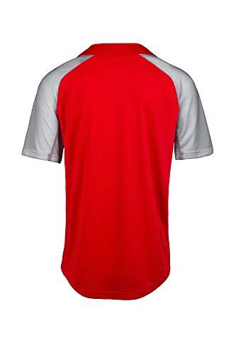 Mizuno Aerolite 2-Button Baseball Jersey, Red-Grey, XX-Large image https://images.buyr.com/OV18L7E_DF2084CD14D16EA18A5934CCC9DE7A6FBAAA0886BE1882514DB83734127EA92C-KbkM7qQHV_ad5OaTYjJ13A.jpg1