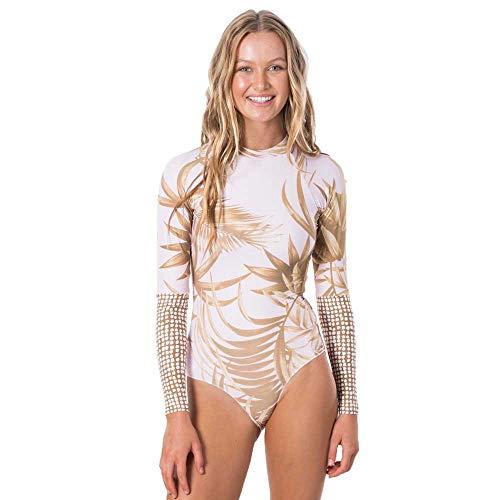 Rip Curl Womens Paradise Cove Surf Suit - Lilac - Composition : 85% Polyamide 15% Elastane - Good Coverage. Logo Trim image 1