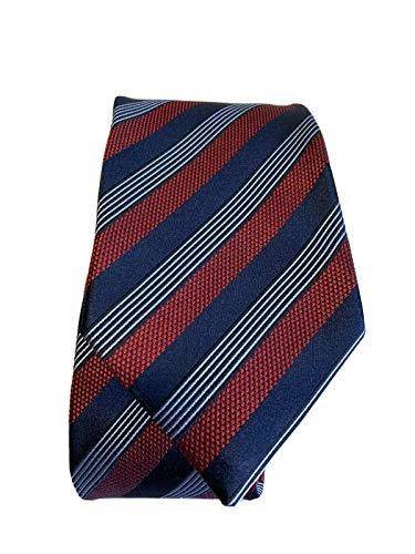 Men's Ermenegildo Zegna Stripe Silk Tie, Size Regular image 1