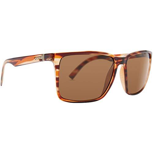 VonZipper Men's Lesmore Sunglasses,OS,Drama Brown/Vintage Grey image 1