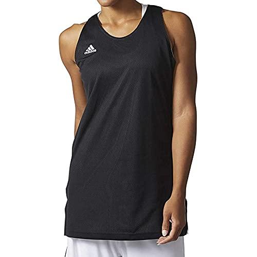 adidas Women's Sportswear Winners 2.0 Tank (Black/White/Black, Medium) image 1