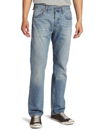 Levi's Men's 501 Original Fit Jean, Blue Mist, 34x30 image 1