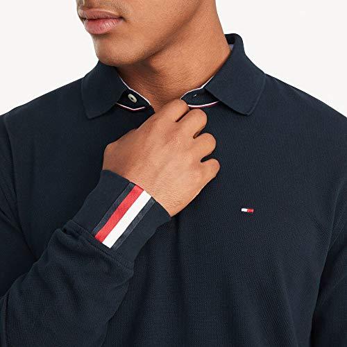 Tommy Hilfiger Men's Regular Long Sleeve Polo Shirt in Classic Fit, Sky Captain Th, Medium image https://images.buyr.com/OV18L7E_EADF71740477019A44E947AD78CE3AE6FCD78A253C05770CD9A36824833EE502-FQVJgS4hUNt4GREYwPZyTA.jpg1