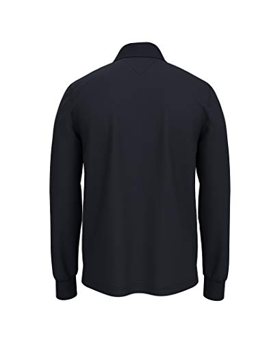 Tommy Hilfiger Men's Regular Long Sleeve Polo Shirt in Classic Fit, Sky Captain Th, Medium image https://images.buyr.com/OV18L7E_EADF71740477019A44E947AD78CE3AE6FCD78A253C05770CD9A36824833EE502-JMBsSFo7jt6aKLpcxBzu3w.jpg1