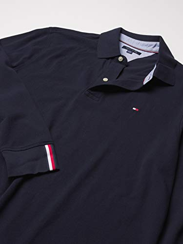 Tommy Hilfiger Men's Regular Long Sleeve Polo Shirt in Classic Fit, Sky Captain Th, Medium image https://images.buyr.com/OV18L7E_EADF71740477019A44E947AD78CE3AE6FCD78A253C05770CD9A36824833EE502-nP-yefZm91l9P80O6epb0g.jpg1
