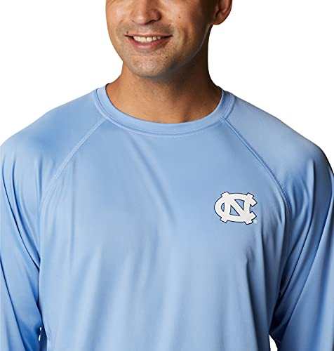 NCAA North Carolina Tar Heels Men's Terminal Tackle Long Sleeve Shirt, 6X Big, NC - White Cap/White image https://images.buyr.com/OV18L7E_ECB9E849DCF8BDFF688726FB22BC189ECAEE96A3F1FAF442361D1D2D7CF65EB7-YDiMo5Q-2lyicc1VcrlRQQ.jpg1