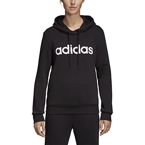 adidas Women's E Lin Oh Hoodie Fl Black/White S image 1