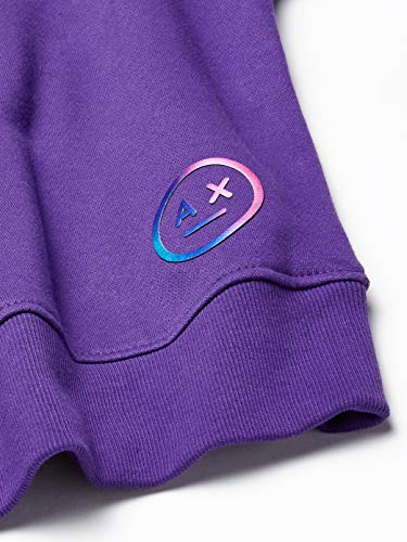 A X Armani Exchange Women's Solid Sweatshirt with Small Circular Logo, Morositas, S image https://images.buyr.com/OV18L7E_F1B64BABC91BC31298FF9808980EC2880B65D0D9FEF3E0680403525DC216887E-slpf4zmfJVWld2LyX2WkTg.jpg1