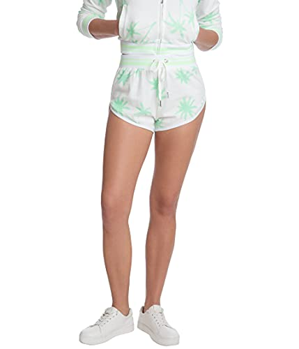 Juicy Couture Printed Shorts with Piping Surf Green Combo MD image 1