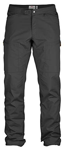 Fjallraven - Men's Abisko Shade Trousers, Dark Grey, 52 image 1