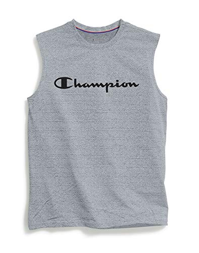 Champion Mens Double Dry Mesh Texture Muscle Tee image 1