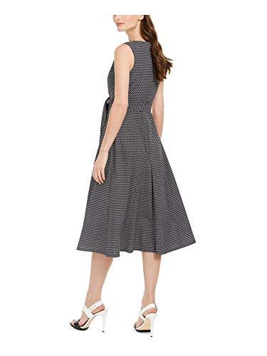 Calvin Klein Women's Plus Size Sleeveless V Neck Midi Dress with Self Sash Waist, Black White, 6 image https://images.buyr.com/OV18L7E_F85632BC756A2FF6C1E02D5C213BB2EBEFAB67BE3F110724D4015FF732480138-LCEbFcd432kG6zlMfBlX4w.jpg1