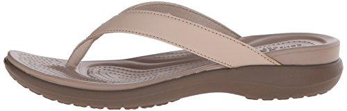 Crocs Capri V Flip Flops | Sandals for Women, Chai/Walnut, 4 image https://images.buyr.com/OV18L7E_F8C65708AAAE0139AB00D84A48A61E82330BD98CBF242B9B5F734FB1D9E517CD-cPnlz9-ynu8R1_X5ZVgMiw.jpg1
