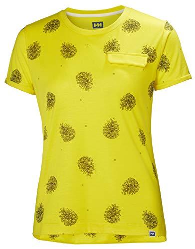 Helly-Hansen Women's Lomma T-Shirt, Dandelion Print, Small image 1