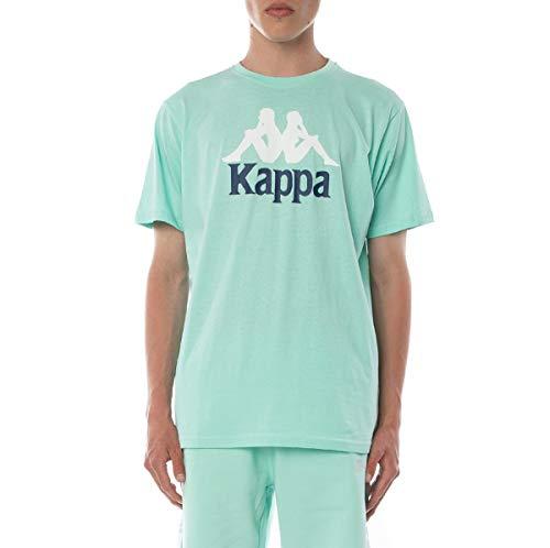Kappa Men's Authentic Estessi T-Shirt, Green Aqua Blue, XX-Large image 1