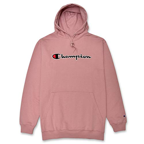 Big & Tall Sweatshirt For Men Embroidered Pullover Hoodies Blush XLT image 1