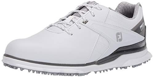FootJoy Men's Pro/SL Carbon Golf Shoes, White, 10 W US image 1