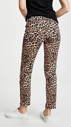 HUDSON Women's Nico Midrise Cigarette Jeans, Classic Leopard, Tan, Print, 26 image https://images.buyr.com/QNZOrX-2DXX6SCMD6f5Q0g.jpg1