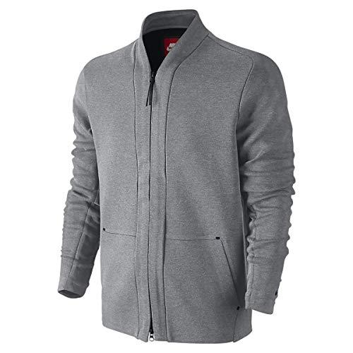 Nike Tech Fleece Men's Cardigan Carbon Heather/Obisidian 744481-091 (s) image 1
