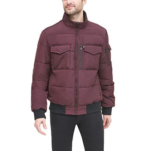 DKNY Men's Quilted Performance Bomber Jacket, oxblood, Large image https://images.buyr.com/QjBo3kGkz7ogbzmw3dJ4hw.jpg1