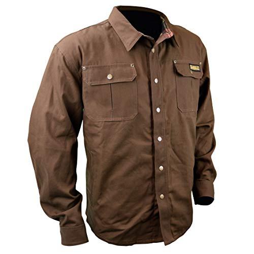 DEWALT DCHJ081 Heated Heavy Duty Shirt Jacket with 2.0Ah Battery and Charger image https://images.buyr.com/R3wMM9UkA6M12VitDvIBxA.jpg1