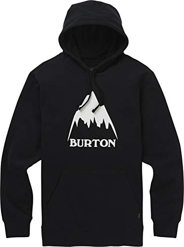 Burton Men's Classic Mountain High Pullover Hoodie, True Black W19, Medium image 1