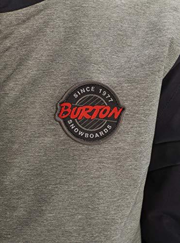 Burton Boys' Game Day Jacket, Bog Heather / True Black, Small image https://images.buyr.com/TIN1ZwbQ5OqCJorO9P57ug.jpg1