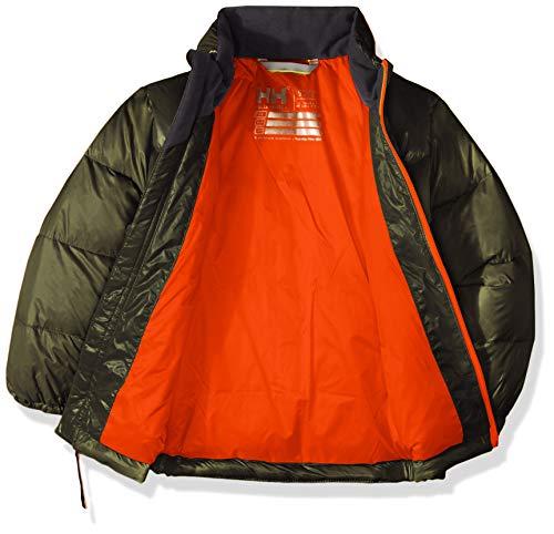 Helly Hansen Kids & Baby Frost Hooded Lightweight Puffy Down Jacket, 469 Forest Night, Size 1 image https://images.buyr.com/TT-hrOu5slLFpJ-0rfAT5g.jpg1