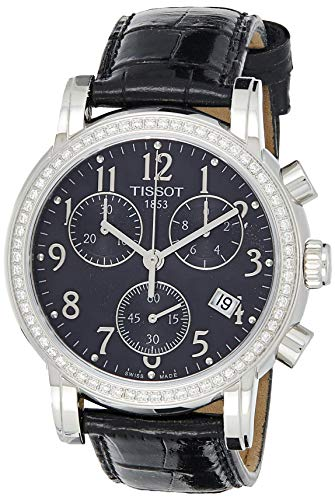 Tissot Women's T050.217.16.052.01 Black Dial Dressport Watch image 1