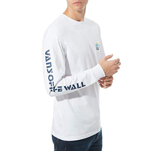 Vans OTW Long Sleeve T-Shirt (XX-Large, (High Elevation) White) image 1