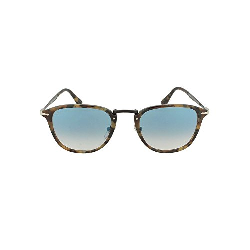 Persol PO3165S Sunglasses 10713F-52 - Tortoise Brown Ice Frame, Clear Gradient PO3165S-10713F-52 image 1