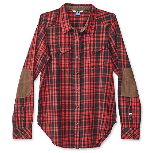 KAVU Billie Jean Womens Shirt - Fireside - X-Small image 1