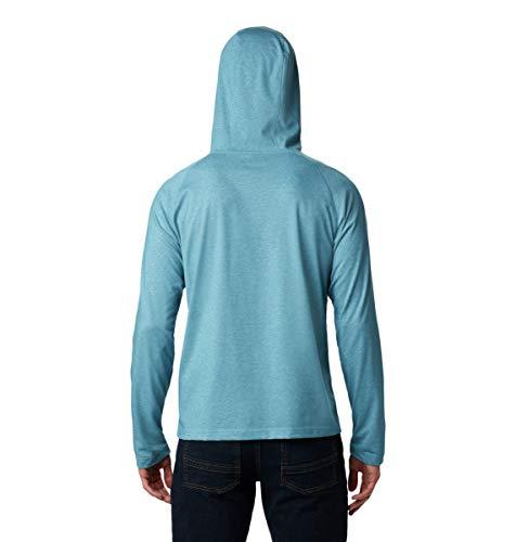 Columbia Men's Thistletown Park Raglan Hoodie, Canyon Blue Heather, XX-Large image https://images.buyr.com/VmST1R2M7k26wYdRuJfMSg.jpg1