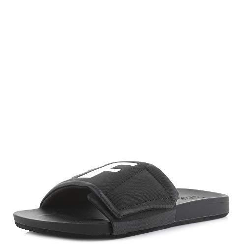 REEF Cushion Bounce Slide Black//White//Sandals