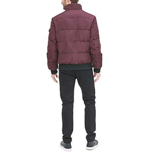 DKNY Men's Quilted Performance Bomber Jacket, oxblood, Large image https://images.buyr.com/XIfV6IDyzNmvEPw_9zr9Wg.jpg1